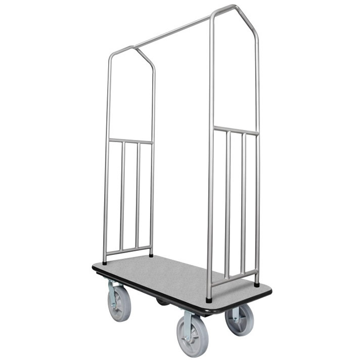 Traveler's Series Chrome Bellman Carts