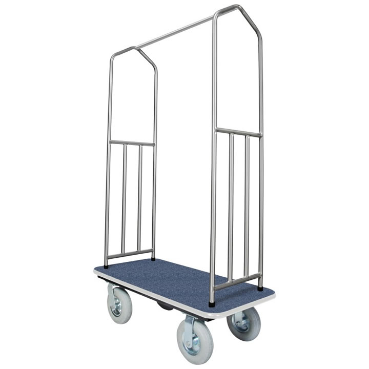 Traveler's Series Stainless Steel Bellman Carts